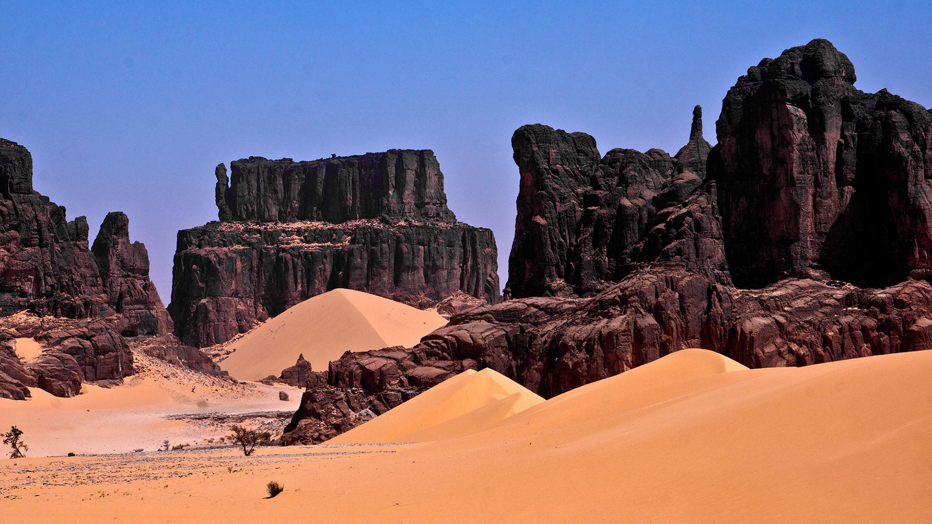 Confini tra Borkou e Ennedi, la spettacolare Monument Valley di Anoa