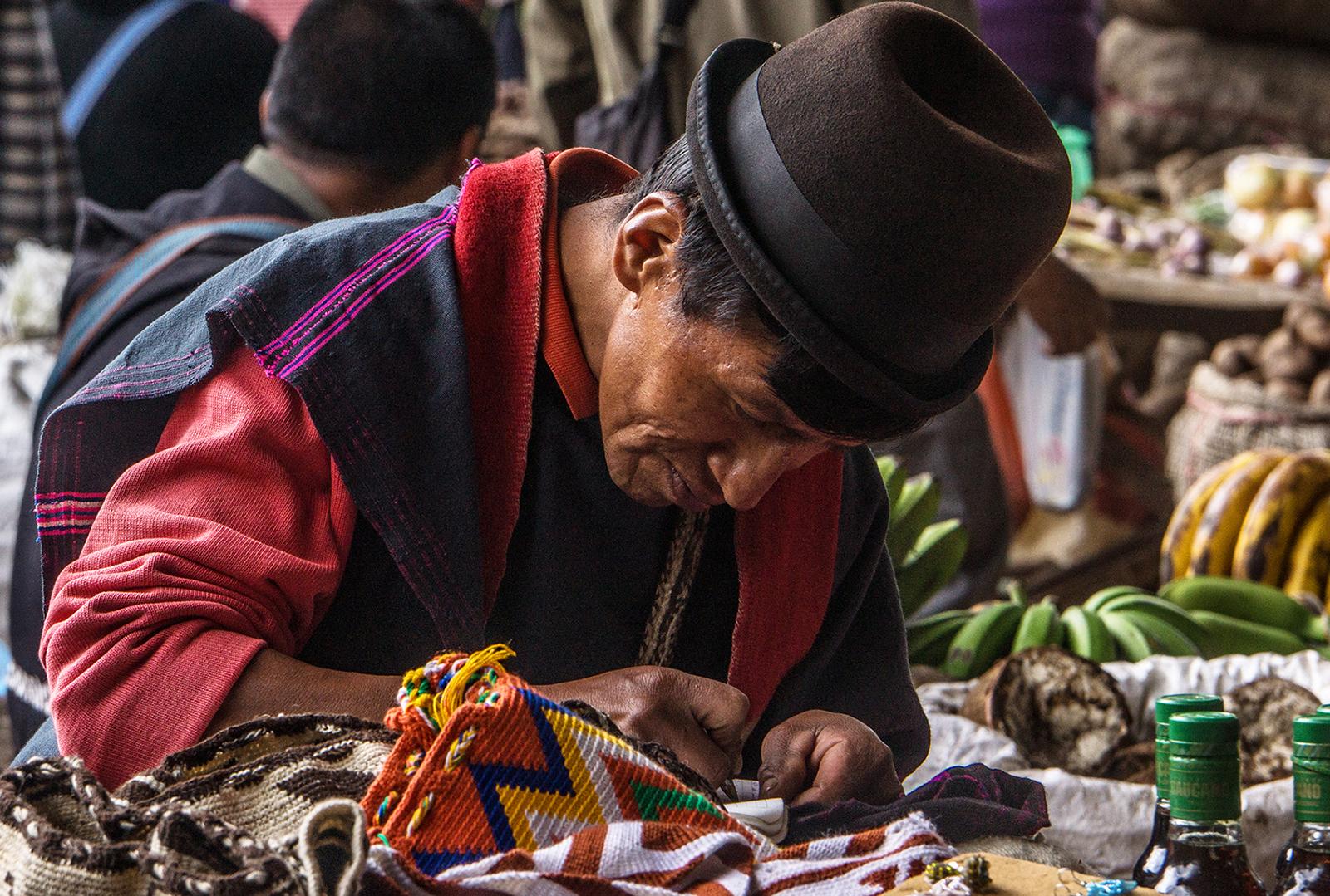 Colombia, mercato di Silvia
