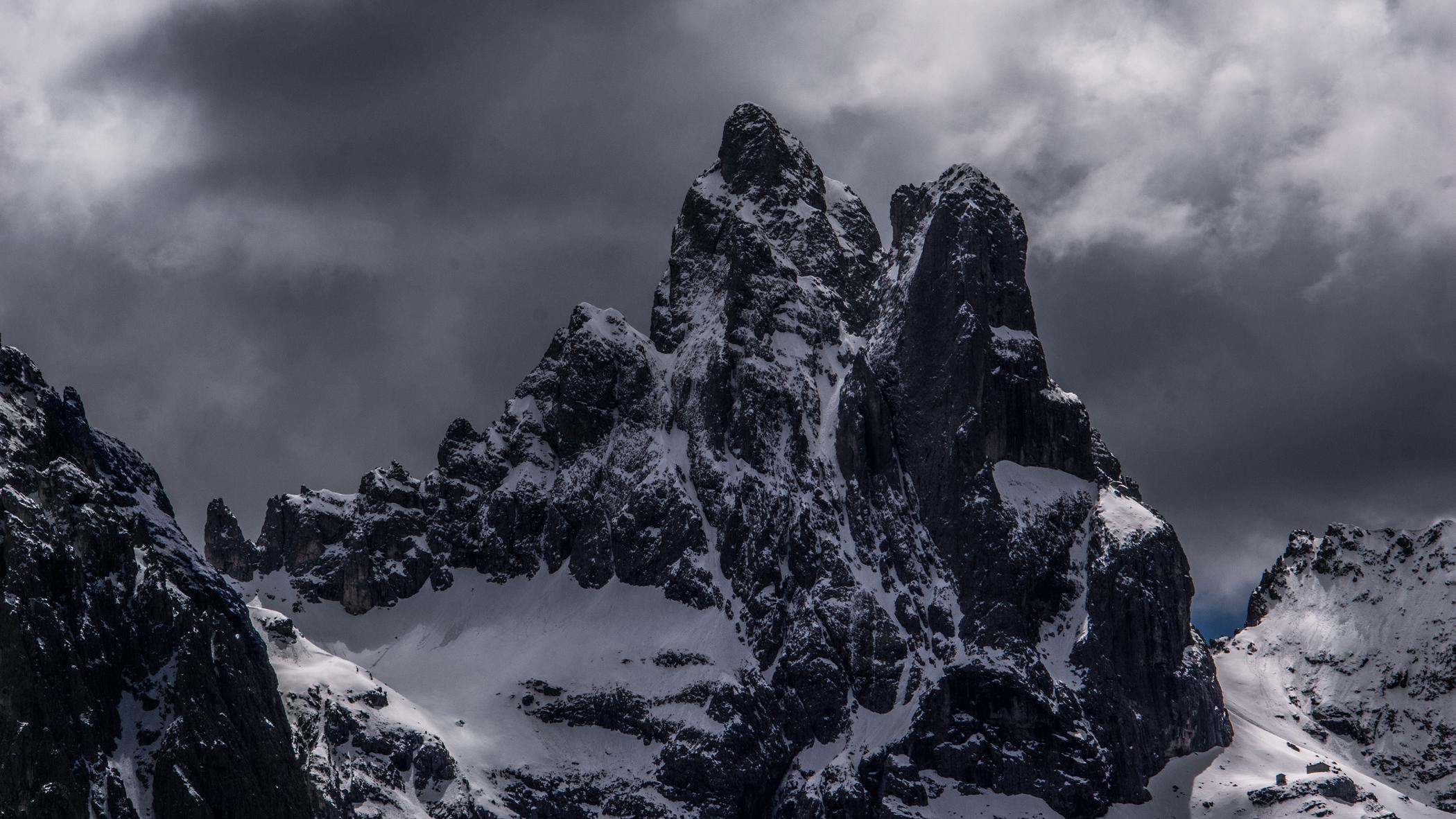 Dolomiti, Passo Rolle, il Cimon della Pala