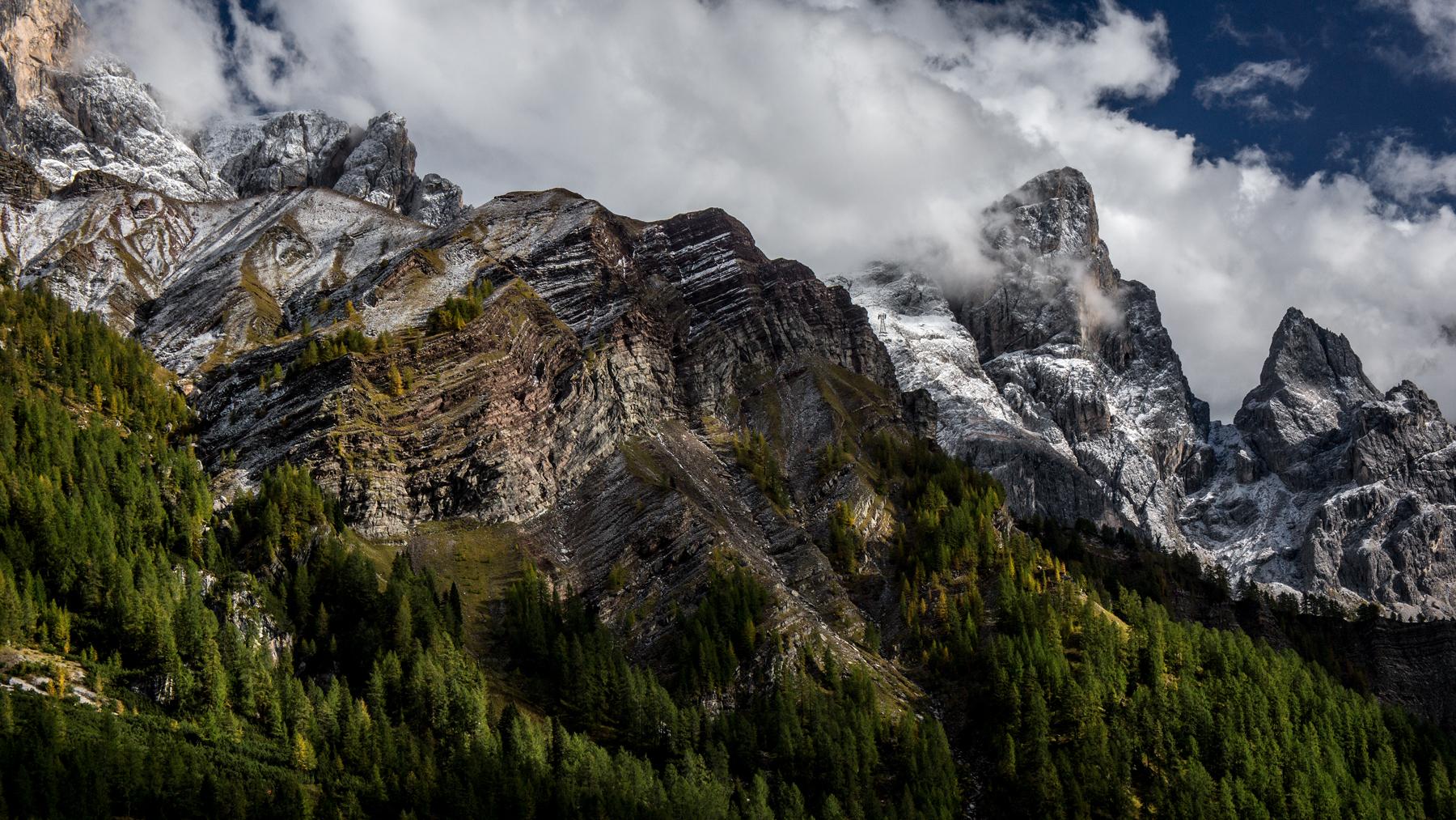 Dolomiti, Cima Rosetta, Pale di S.Martino