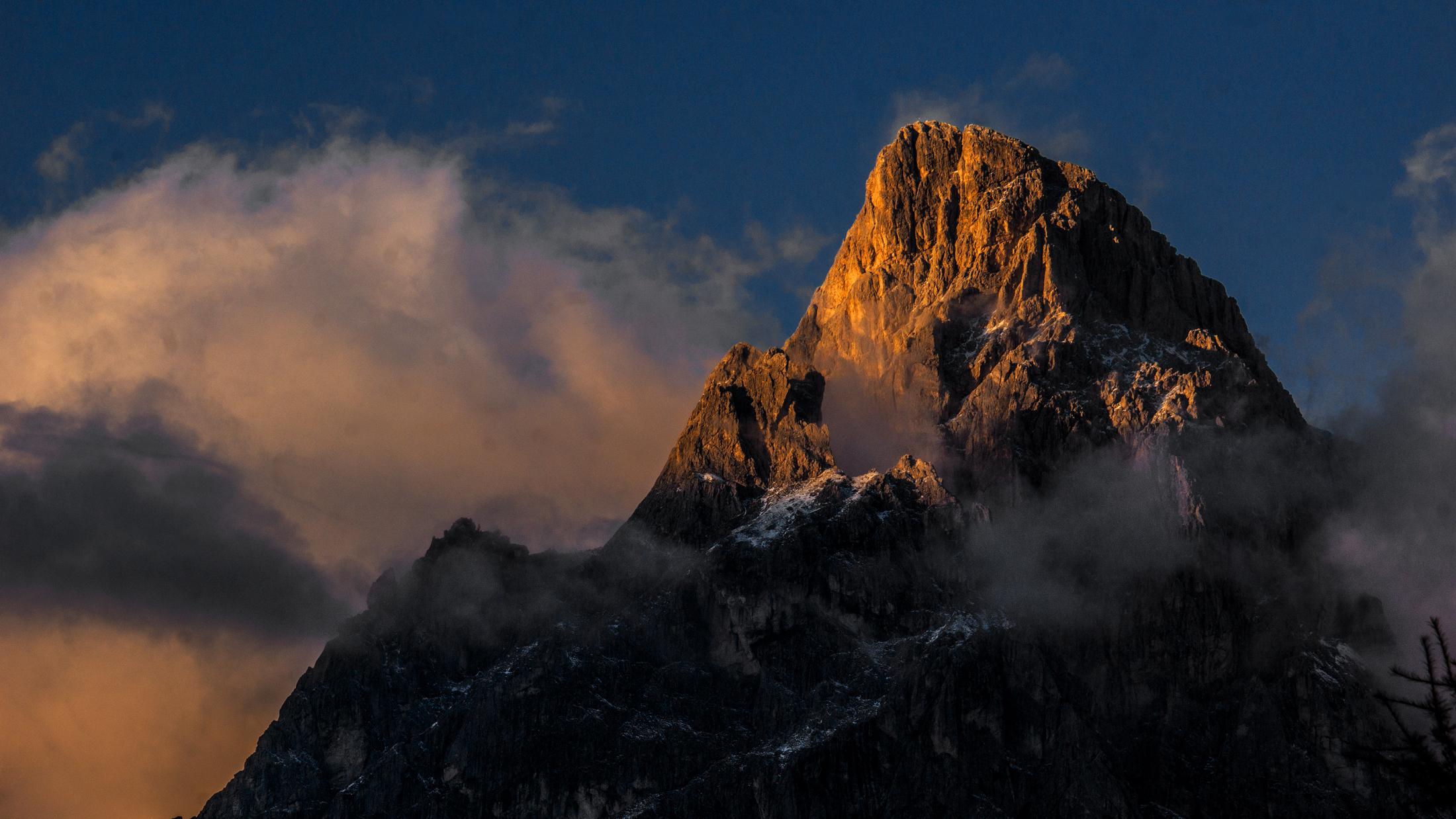 Dolomiti, Pale di S.Martino, Cima Rosetta