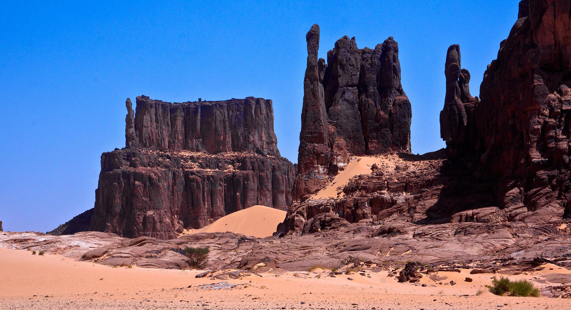 Confini tra Borkou e Ennedi, la Monument Valley di Anoa