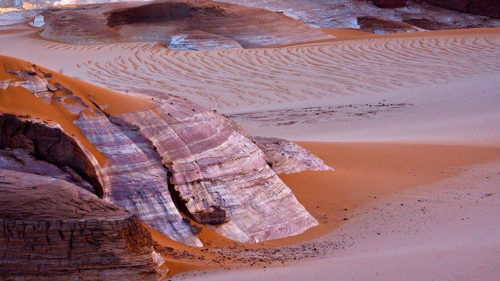 Borkou, le arenarie di Kouroudi