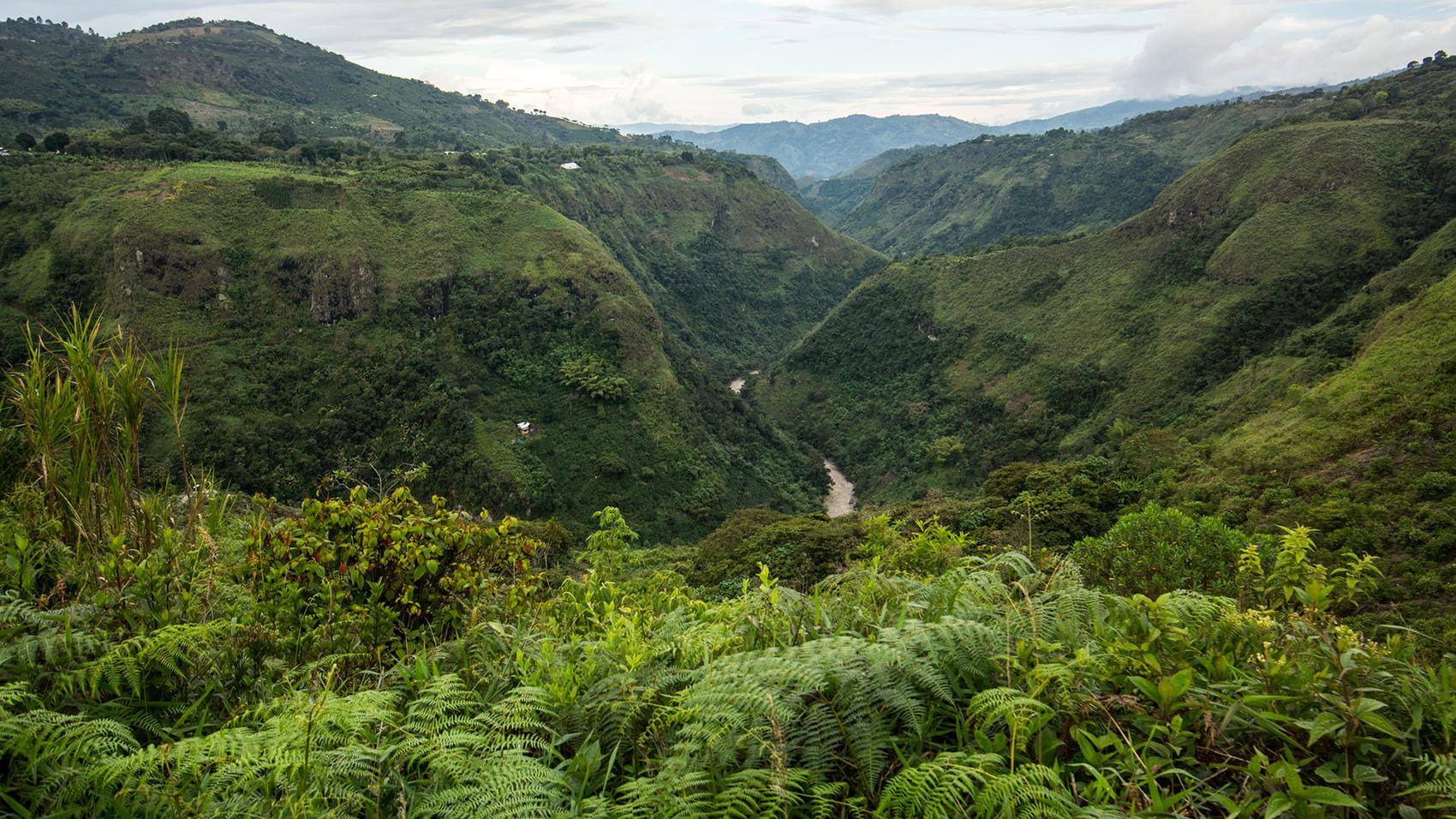 Colombia, Cordillera Andina, el Rio Magdalena