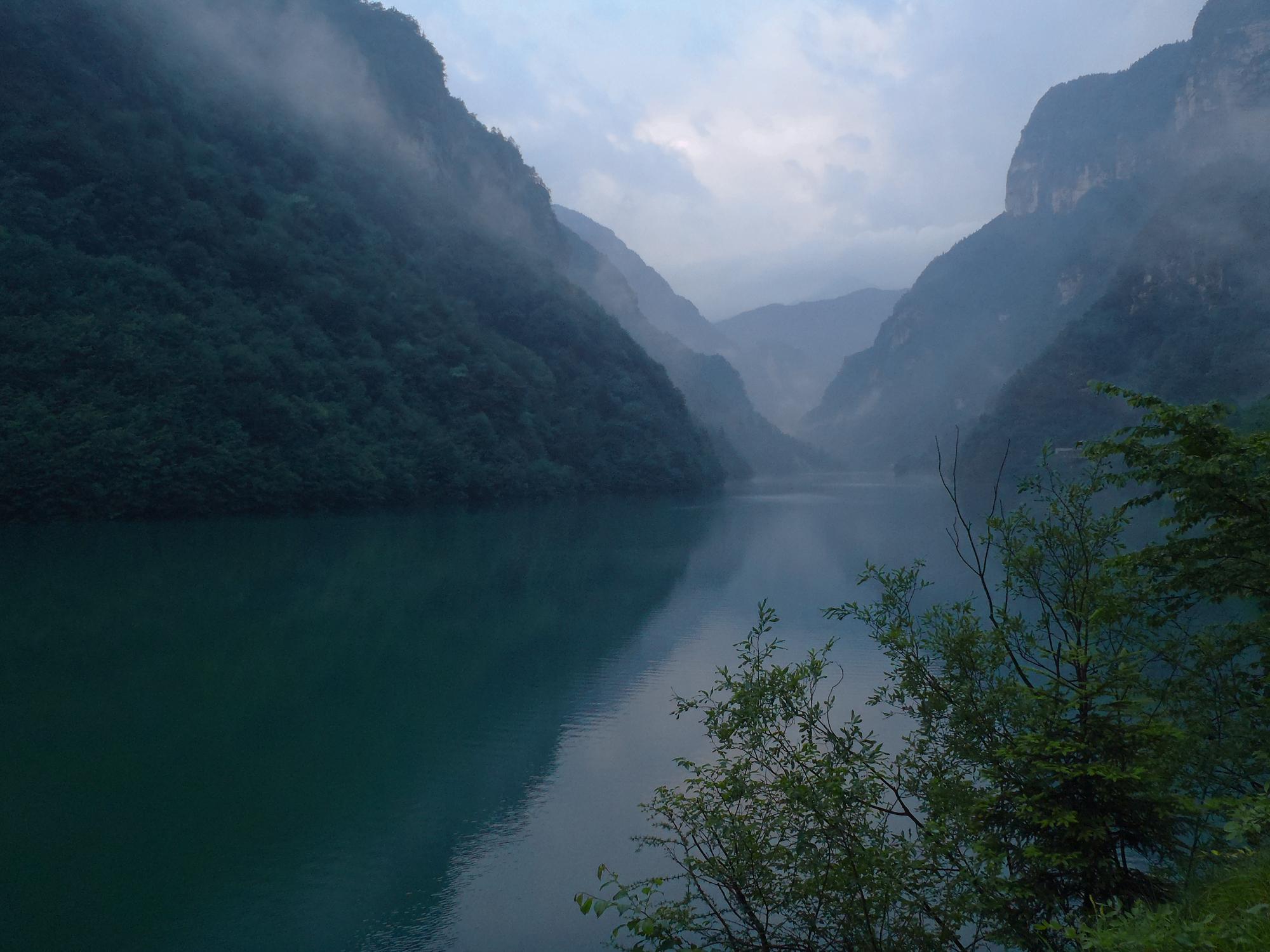 Dolomiti, Primiero, lago Schener